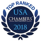 Top Ranked USA Chambers 2018
